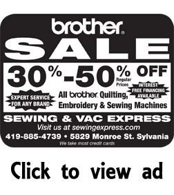 Sewing Express - Brother sewing machine sale