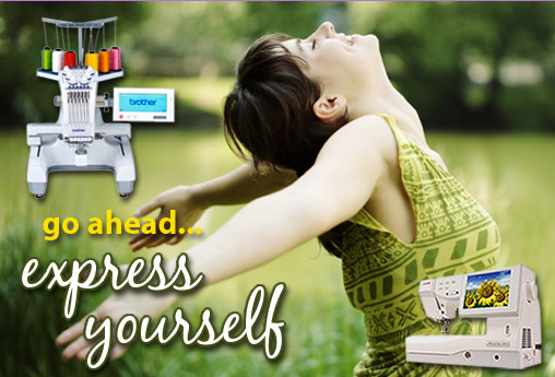 Express yourself at Sewing Express