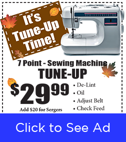 Fall Tune-Up Time banner