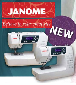 Janome New Machines